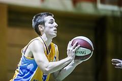 Basketball, 2.Bundesliga, Grunddurchgang 5.Runde, Mattersburg Rocks, Mistelbach Mustangs, Rejhan Sehinovic (13)