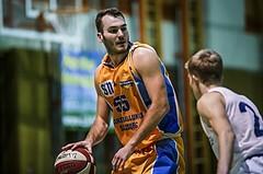 Basketball, 2.Bundesliga, Grunddurchgang 5.Runde, Mattersburg Rocks, Mistelbach Mustangs, Dimitris Mouratoglou (55)