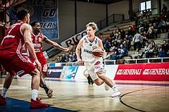 Basketball, ABL 2017/18, Grunddurchgang 27.Runde, Oberwart Gunners, BC Vienna, Georg Wolf (10)