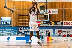 Basketball, CUP 2017 , 1/2 Finale, Oberwart Gunners, Gmunden Swans, Cedric Kuakumensah (5)