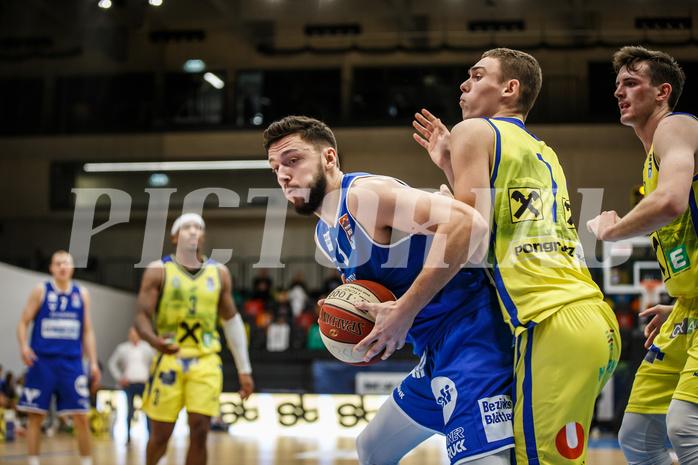 Basketball, bet-at-home Basketball Superliga 2020/21, Grunddurchgang 3. Runde, UBSC Graz, Oberwart Gunners, Ignas Fiodorovas (5)