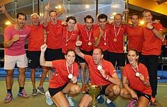 Racketlon Europameisterschaft Winner Team Austria