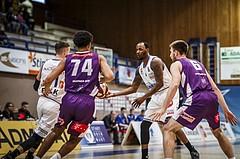 Basketball, ABL 2018/19, Grunddurchgang 33.Runde, Oberwart Gunners, Vienna DC Timberwolves, Justin Coleman (8)