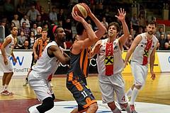 Basketball ABL 2017/18 Grunddurchgang 27. Runde Flyers Wels vs BK Dukes Klosterneuburg