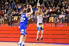 Basketball, ABL 2017/18, Grunddurchgang 7.Runde, Kapfenberg Bulls, Oberwart Gunners, Marck Coffin (15)