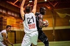 Basketball, Basketball Zweite Liga, Grunddurchgang 1.Runde, COLDA MARIS BBC Nord Dragonz, Swarco Raiders Tirol, John Franklyn Gardiner (11)