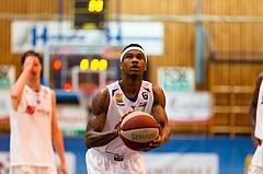 Basketball, ABL 2016/17, CUP VF, Oberwart Gunners, UBSC Graz, Derek Jackson Jr. (6)