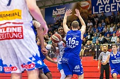 Basketball, ABL 2017/18, Grunddurchgang 7.Runde, Kapfenberg Bulls, Oberwart Gunners, Kareem Jamar (4)