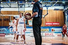 Basketball, ABL 2018/19, Grunddurchgang 1.Runde, Oberwart Gunners, BC Vienna, Georg Wolf (10)