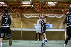 Basketball, Basketball Zweite Liga, Grunddurchgang 3.Runde, COLDA MARIS BBC Nord Dragonz, Mattersburg Rocks, Filip Mileta (6)