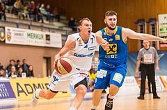 Basketball, ABL 2017/18, Grunddurchgang 2.Runde, Oberwart Gunners, UBSC Graz, Sebastian Käferle (7)