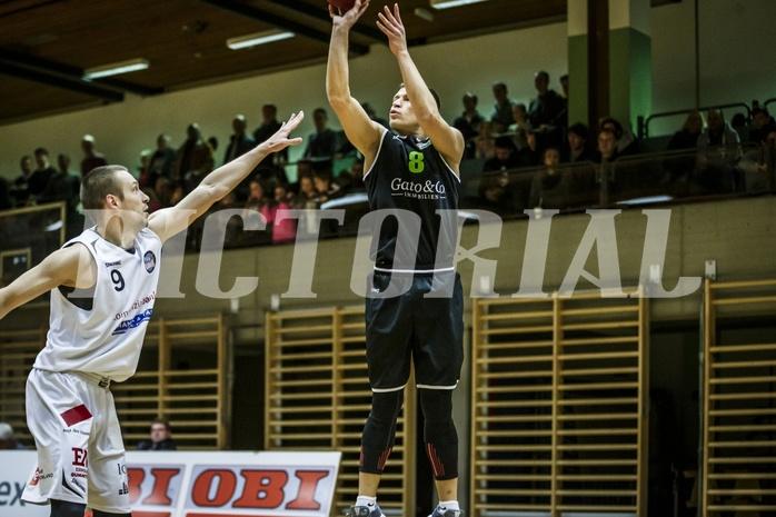 Basketball, 2.Bundesliga, Grunddurchgang 9.Runde, Mattersburg Rocks, Basket Flames, Dragisa Najdanovic (8)