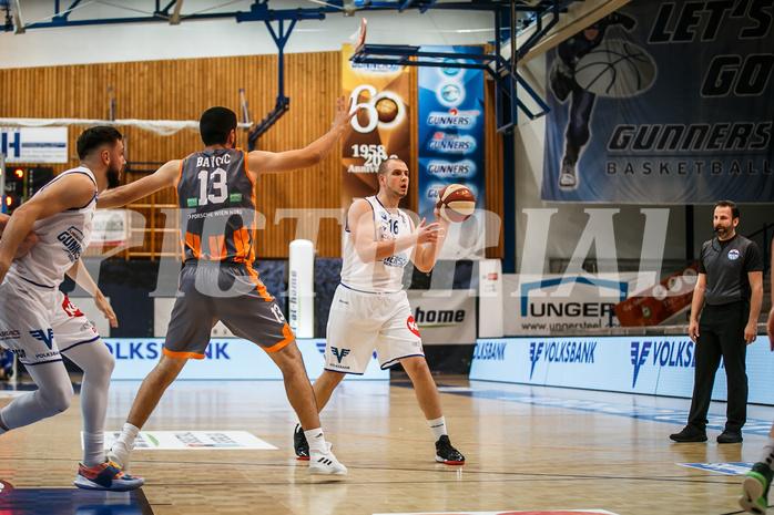 Basketball, bet-at-home Basketball Superliga 2020/21, Grunddurchgang 8. Runde, Oberwart Gunners, Klosterneuburg Dukes, Renato Poljak (16)
