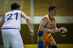 Basketball, 2.Bundesliga, Grunddurchgang 5.Runde, Mattersburg Rocks, Mistelbach Mustangs, Guillermi Sanchez Daza (10)
