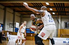 Basketball, Basketball Zweite Liga, Grunddurchgang 3.Runde, Mattersburg Rocks, Fürstenfeld Panthers, David A.O. Akibo (15)