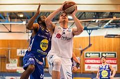 Basketball, CUP 2017 , 1/2 Finale, Oberwart Gunners, Gmunden Swans, Benjamin Blazevic (12)