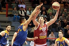 18.03.2018 Basketball ABL 2017/18 Grunddurchgang 28. Runde Traiskirchen Lions vs. Fürstenfeld Panthers