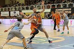 Basketball ABL 2016/17 Grunddurchgang 14.Runde Fürstenfeld Panthers vs WBC Wels