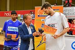 Basketball ABL 2016/17 Halbfinale Spiel 4 WBC Wels vs Gunners Oberwart
