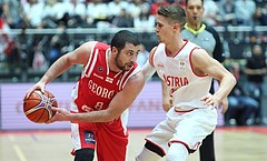 Basketball FIBA Basketball World Cup 2019 European Qualifiers,  First Round Austria vs. Georgia