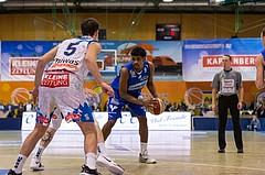 Basketball, ABL 2017/18, Grunddurchgang 7.Runde, Kapfenberg Bulls, Oberwart Gunners, Gregg Denzel (9)