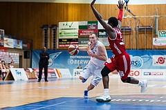 Basketball, ABL 2016/17, Grunddurchgang 19.Runde, Oberwart Gunners, BC Vienna, Sebastian Kaeferle (7), Anthony Clemmons (5)