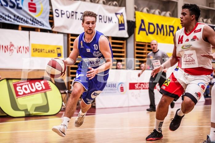 Basketball, ABL 2018/19, CUP Achtelfinale, UBC St. Pölten, Oberwart Gunners, Georg Wolf (10)