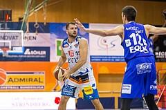 Basketball, ABL 2017/18, Grunddurchgang 7.Runde, Kapfenberg Bulls, Oberwart Gunners, Jozo Rados (13)