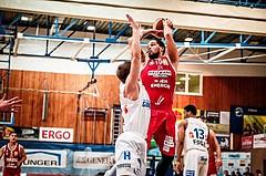 Basketball, ABL 2017/18, Grunddurchgang 27.Runde, Oberwart Gunners, BC Vienna, Jason Detrick (19)