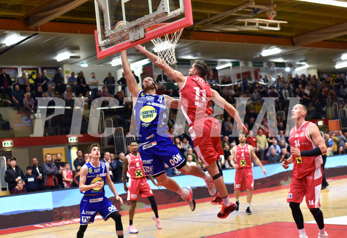 Basketball Superliga 2019/20,  1.Plazierungsrunde Flyers Wels vs. Gmunden Swans