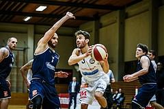 Basketball, 2.Bundesliga, Grunddurchgang 3.Runde, Mattersburg Rocks, BBC Nord Dragonz, Jan NICOLI (3)