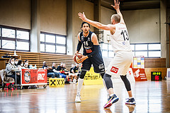 Basketball, Basketball Zweite Liga, Playoff: Viertelfinale 3. Spiel, Mattersburg Rocks, BBC Nord Dragonz, Marko Kolaric (16)