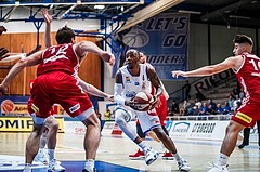 Basketball, ABL 2018/19, Grunddurchgang 1.Runde, Oberwart Gunners, BC Vienna, Justin Coleman (8)