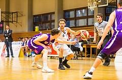 Basketball, 2.Bundesliga, Grunddurchgang 2.Runde, Mattersburg Rocks, Vienna DC Timberwolves, Jan NICOLI (6)