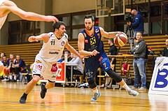 Basketball, ABL 2016/17, CUP 2.Runde, Mattersburg Rocks, Fürstenfeld Panthers, Marko Car (7), Stefan ULREICH (11)