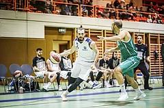 Basketball, 2.Bundesliga, Grunddurchgang 4.Runde, Mattersburg Rocks, BBU Salzburg, Stojan Radanovic (6)