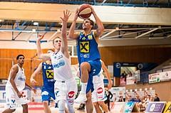 Basketball, ABL 2017/18, Grunddurchgang 2.Runde, Oberwart Gunners, UBSC Graz, Fabian Richter (17)