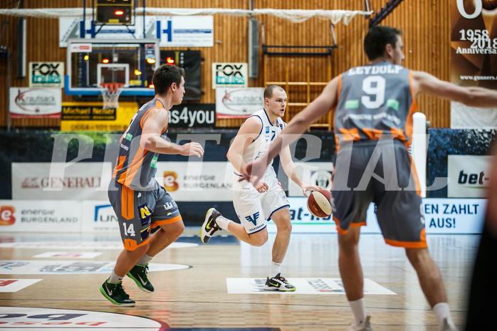 Basketball, bet-at-home Basketball Superliga 2020/21, Grunddurchgang 8. Runde, Oberwart Gunners, Klosterneuburg Dukes, Sebastian Käferle (7)
