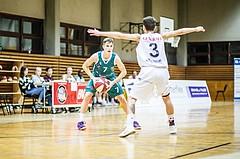 Basketball, 2.Bundesliga, Grunddurchgang 2.Runde, Mattersburg Rocks, KOS Celovec, Valentin Pasterk (7)