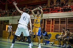 Basketball, 2.Bundesliga, Grunddurchgang 5.Runde, Mattersburg Rocks, Mistelbach Mustangs, Dusan Oluic (8)