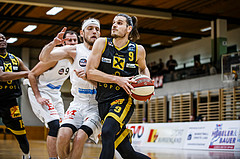 Basketball, Basketball Zweite Liga, Grunddurchgang 3.Runde, Mattersburg Rocks, Fürstenfeld Panthers, Adnan Hajder (9)