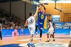 Basketball, CUP 2017 , 1/2 Finale, Oberwart Gunners, Gmunden Swans, Tilo Klette (14)