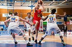 Basketball ABL 2015/16 F2 Oberwart GUNNERS vs. WBC Wels