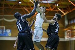 Basketball, Basketball Zweite Liga, Grunddurchgang 1.Runde, COLDA MARIS BBC Nord Dragonz, Swarco Raiders Tirol, Dragisa Najdanovic (7)