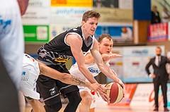 Basketball, ABL 2017/18, Grunddurchgang 5.Runde, Oberwart Gunners, Traiskirchen Lions, Benedikt Güttl (7)