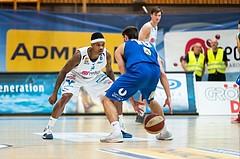 Basketball, ABL 2016/17, CUP VF, Oberwart Gunners, UBSC Graz, Milos Krivokapic (19), Derek Jackson Jr. (6)