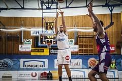 Basketball, ABL 2018/19, Grunddurchgang 33.Runde, Oberwart Gunners, Vienna DC Timberwolves, Renato Poljak (16)