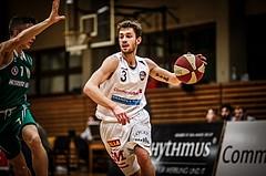 Basketball, 2.Bundesliga, Grunddurchgang 10.Runde (Nachtrag), Mattersburg Rocks, KOŠ Posojilnica Bank Celovec, Jan Nicoli (3)