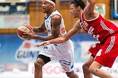 Basketball, ABL 2016/17, Grunddurchgang 19.Runde, Oberwart Gunners, BC Vienna, Derek Jackson Jr. (6), Chris Ferguson (12)
