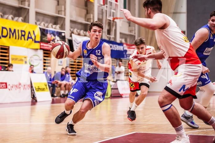 Basketball, ABL 2018/19, CUP Achtelfinale, UBC St. Pölten, Oberwart Gunners, Stefan Reiterer (12)